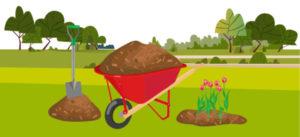 Atelier réduction des déchets verts : paillage et espèces locales à croissance lente @ Moissac