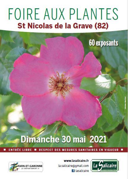 Foire aux plantes de La Salicaire le 30 mai 2021